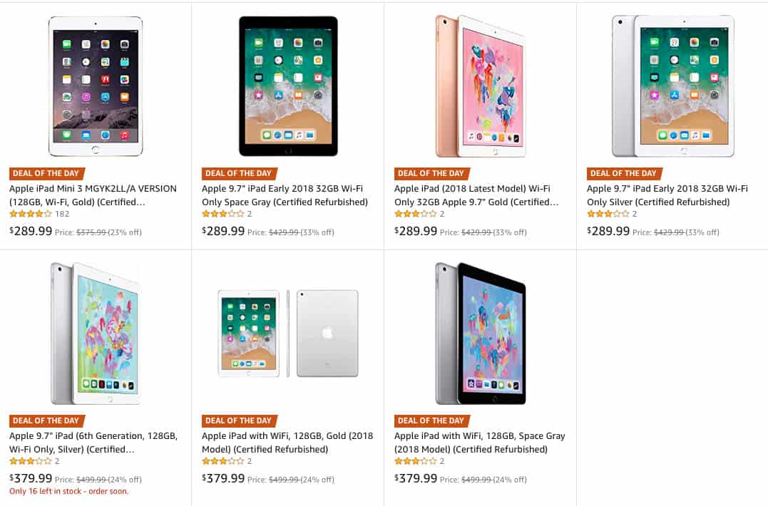 6a003c805fd Save up to 33% on refurbished iPads at Amazon