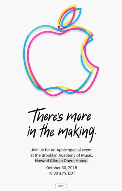apple logo goes into redesign overload ahead of october event cult