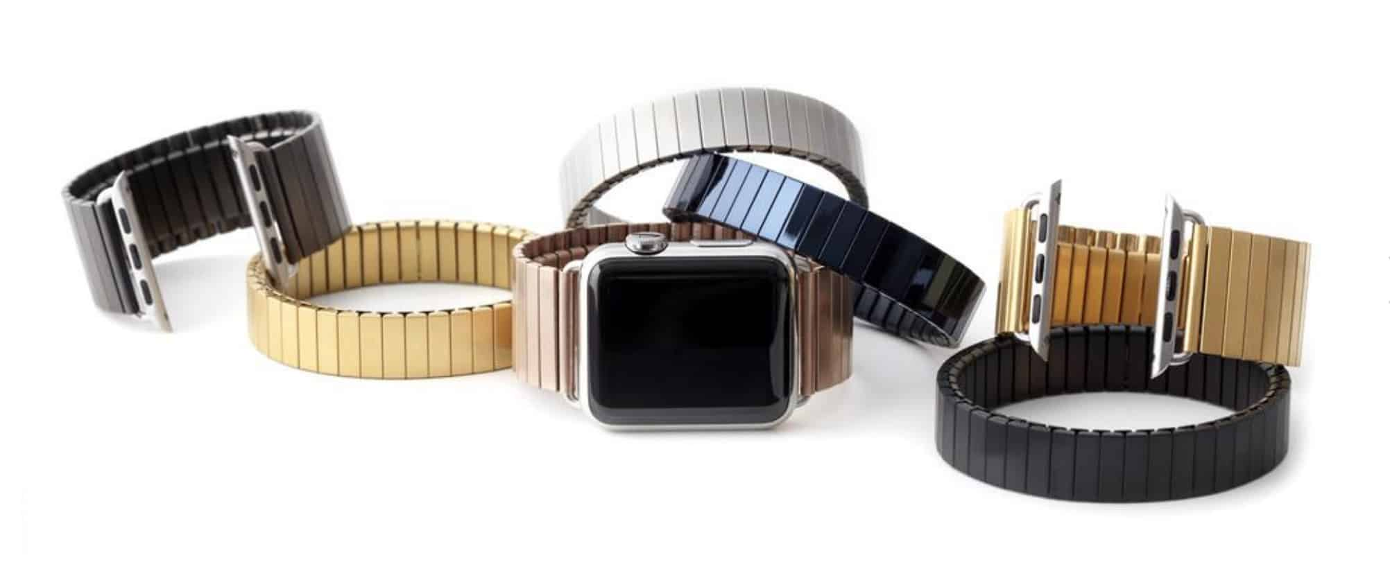 Rilee & Lo spices up your Apple Watch with sexy, sleek stainless steel watch bands.