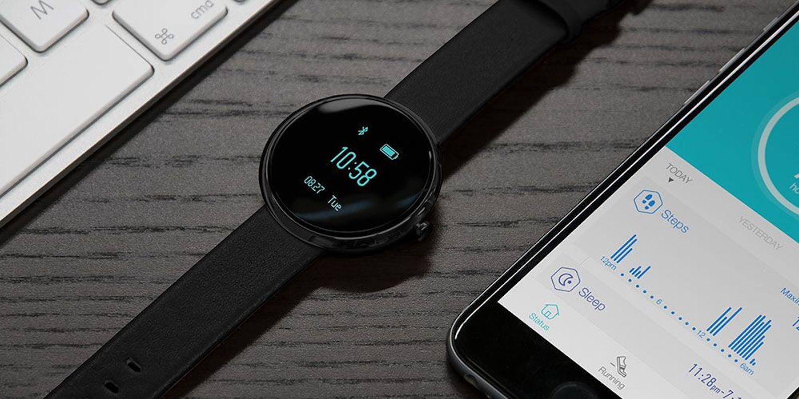 Get all the health monitoring benefits of a smart watch for a lot less money.