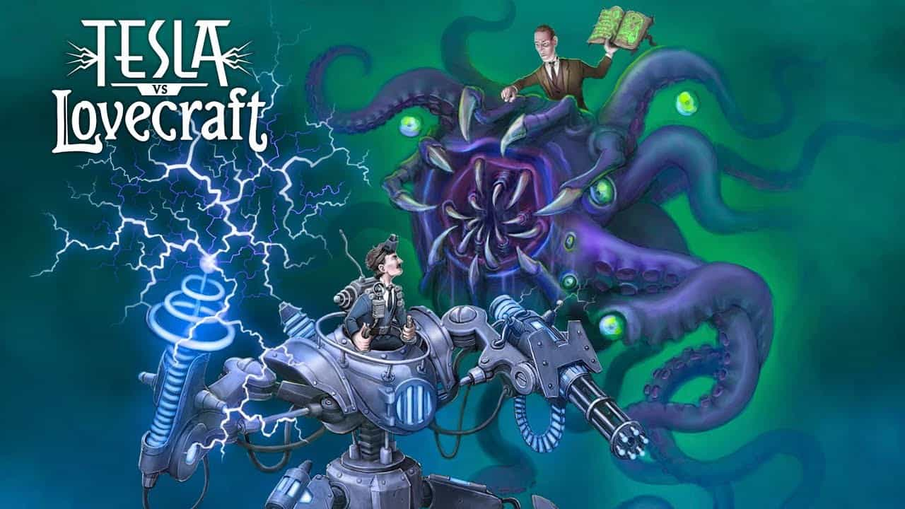 Tesla Vs. Lovecraft Brings Steampunk Blasting Action to iOS this Month