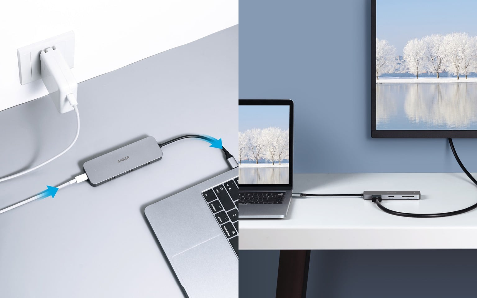 Anker's 7-in-1 USB-C hub even connects an HDMI screen.
