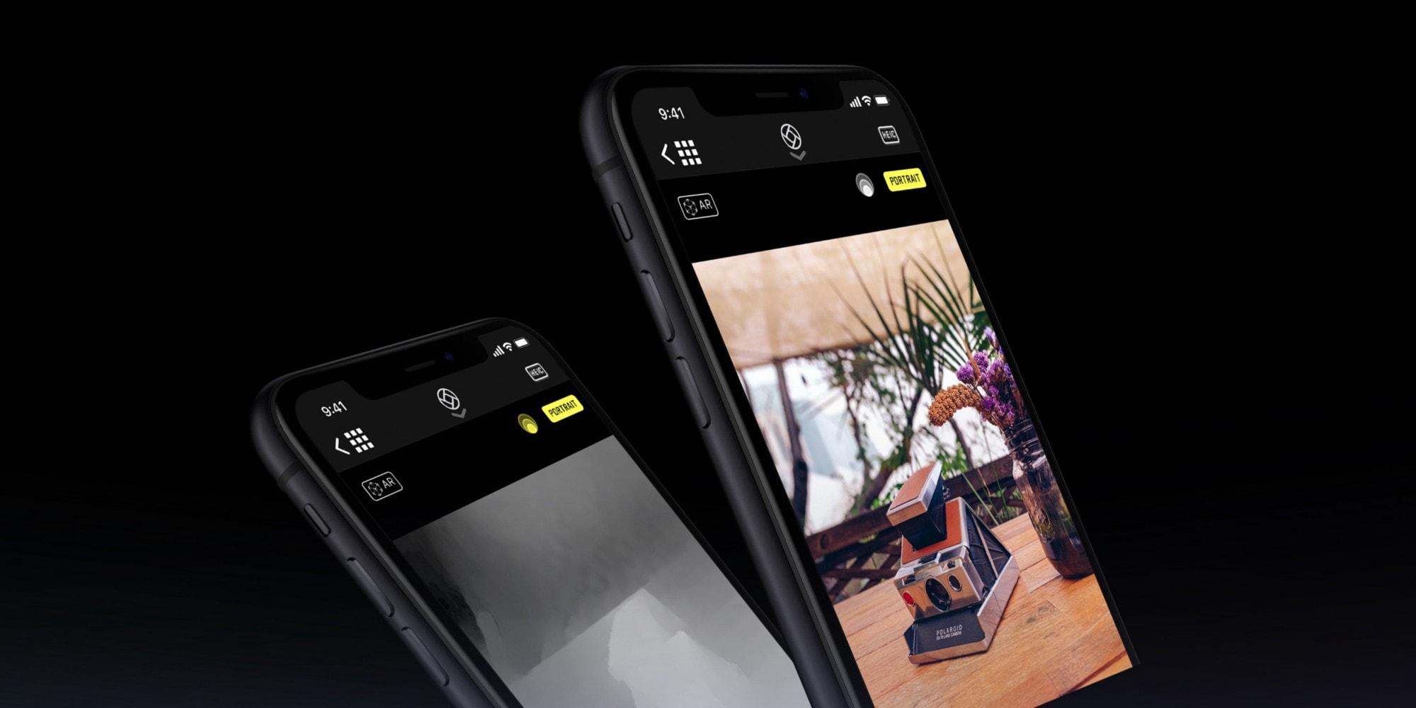 Halide iPhone xr portrait mode