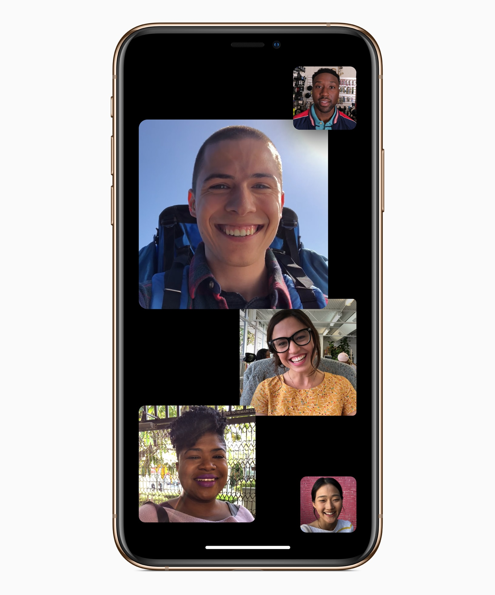 Group FaceTime is here at last in iOS 12.1.