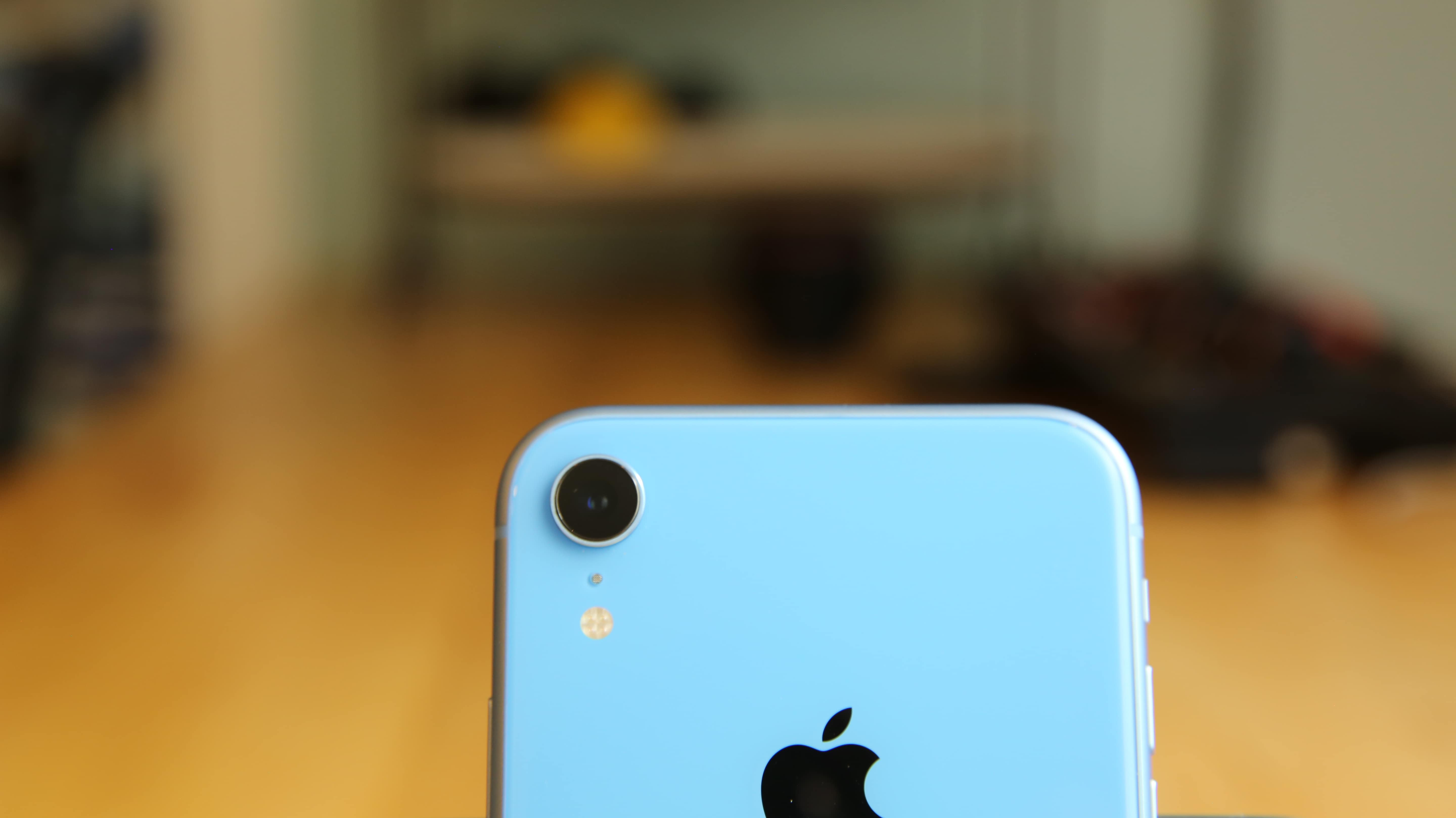 The iPhone XR packs a 12-megapixel single-lens camera.