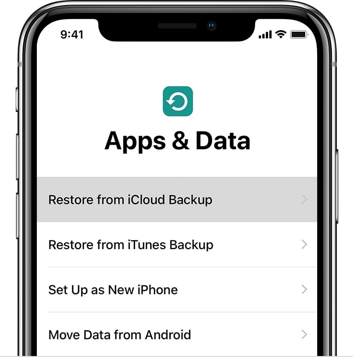Restoring iPhone XR from backup is the most seamless way to update.