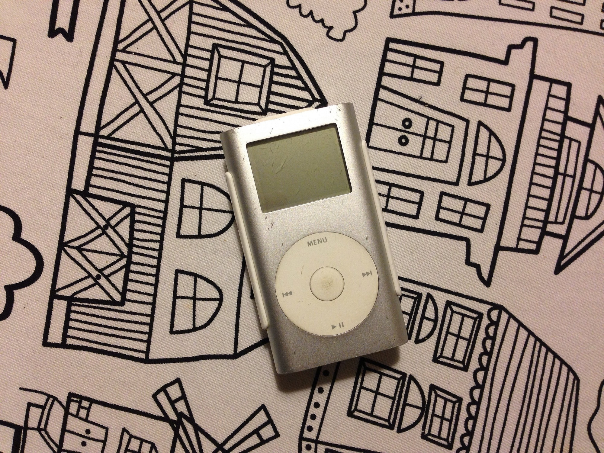 The iPod mini came in lots of colors. Not this one, though.