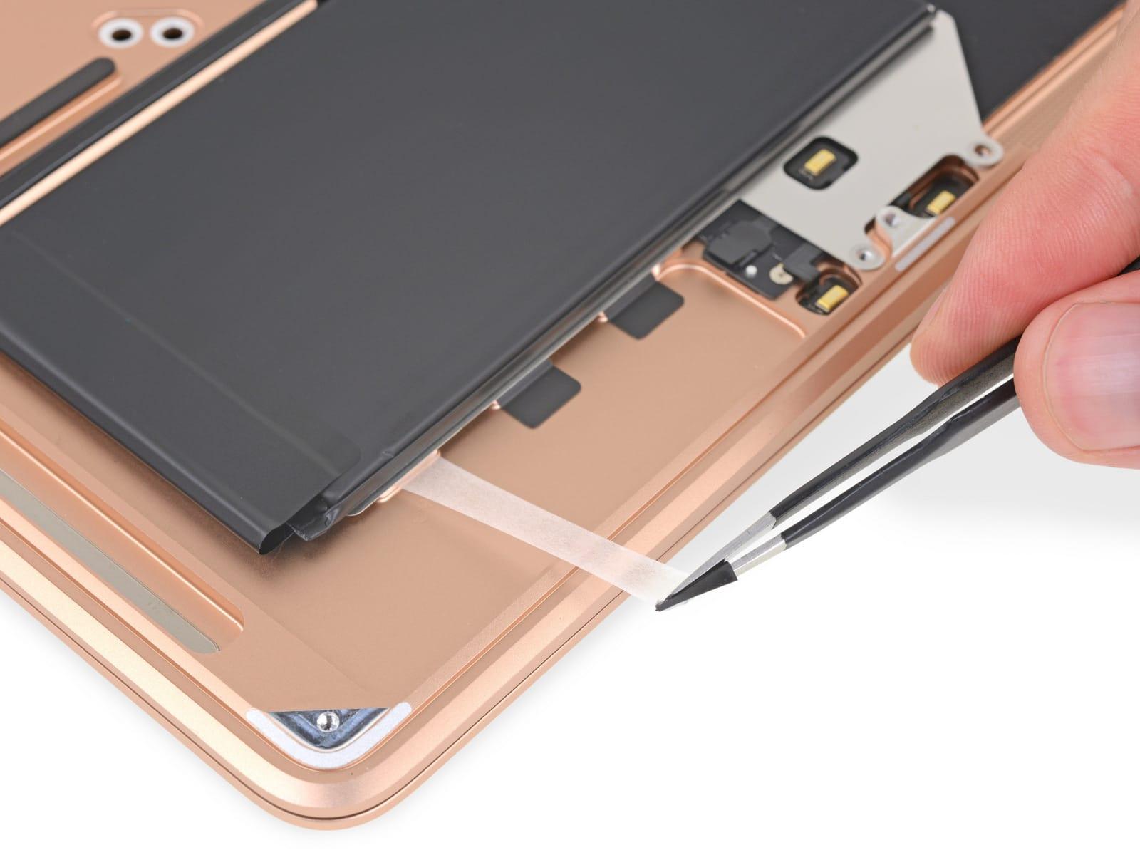 2018 MacBook Air battery glue