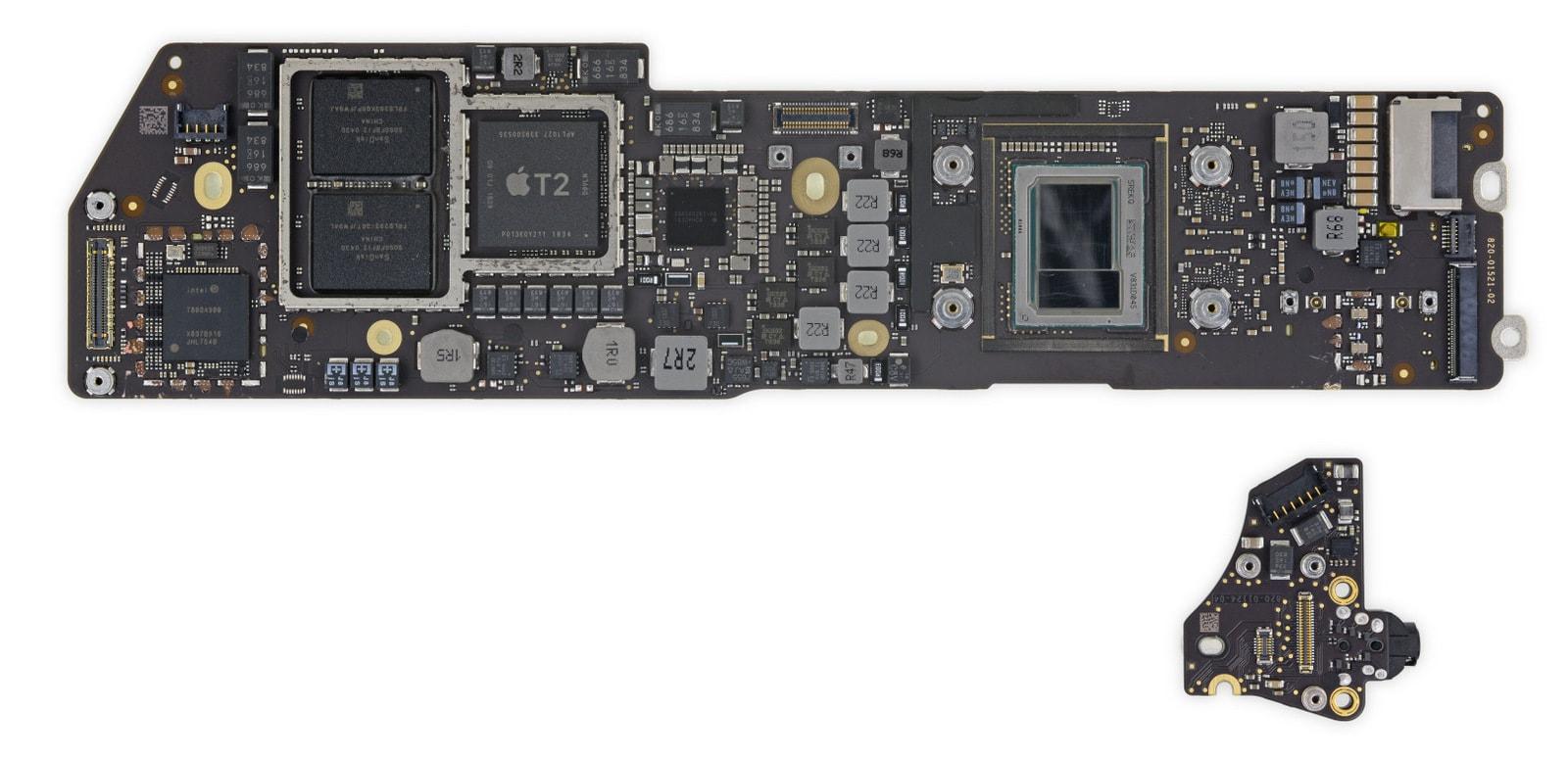 2018 MacBook Air logic board