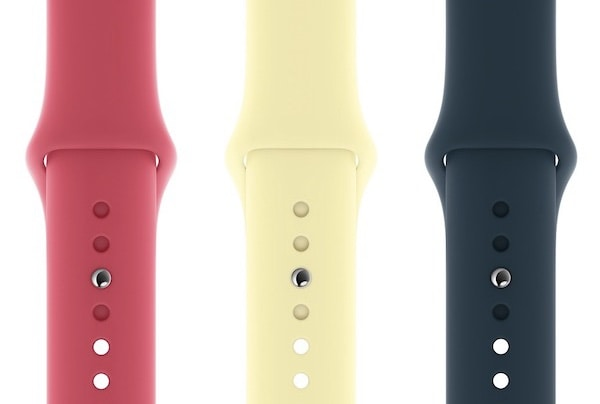 Apple's new Watch bands.
