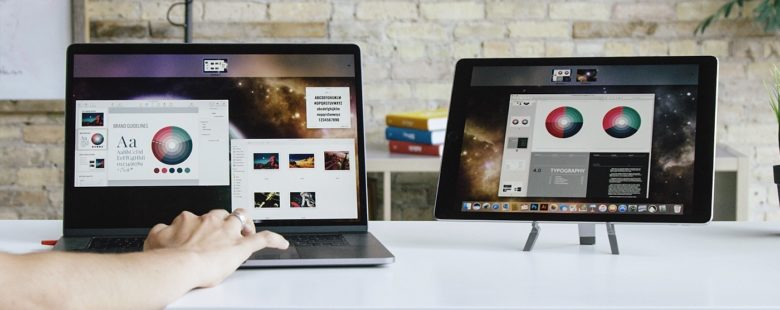 Luna DIsplay is great for people traveling with a Mac and an iPad.