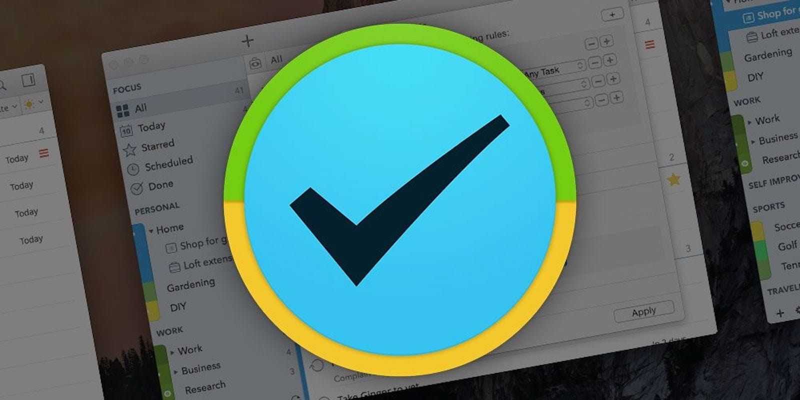 Manage all your daily tasks with 2Do, a great Mac productivity app.