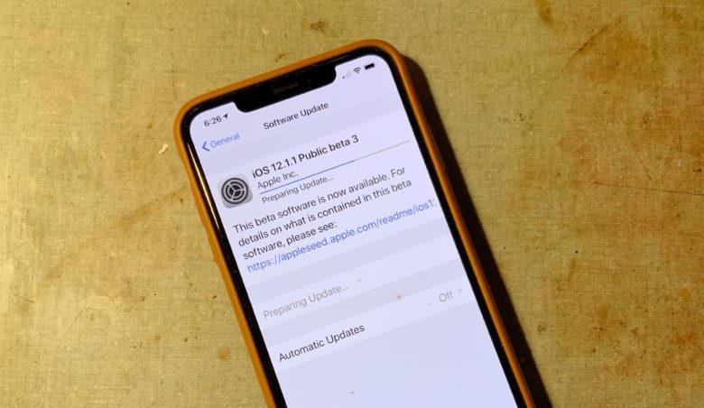 The third beta of iOS 12.1.1 is available to anyone who wants it.