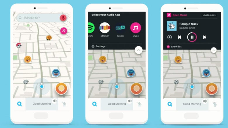 Waze adds podcast controls to brighten up your commute