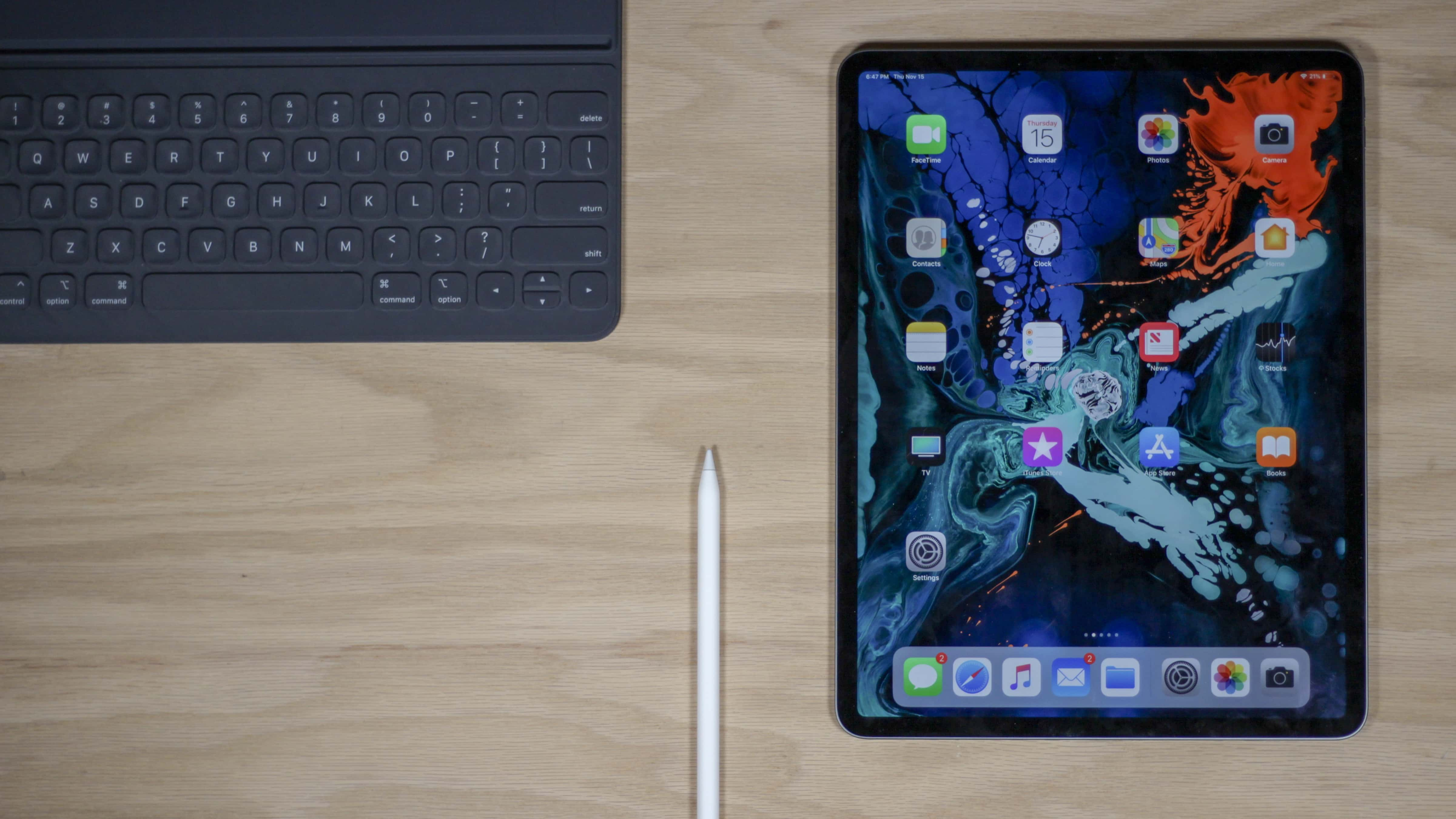 IPad Pro Apple Pencil Smart Keyboard Folio