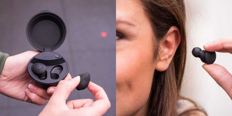 Save money and pocket space with these ultra compact wireless earbuds.