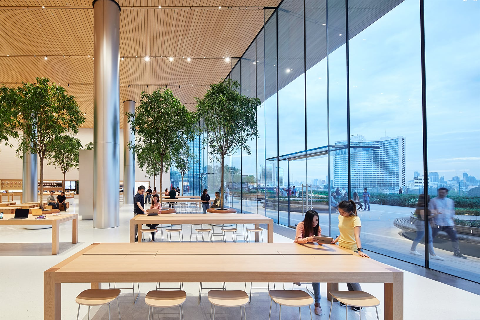 Look Inside Apple's First Store in Thailand