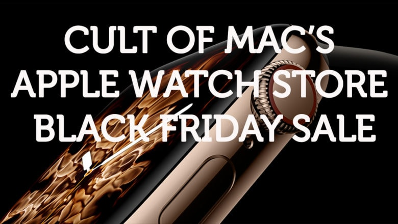 Save 20-50% off Apple Watch bands and accessories in our big Black Friday sale.