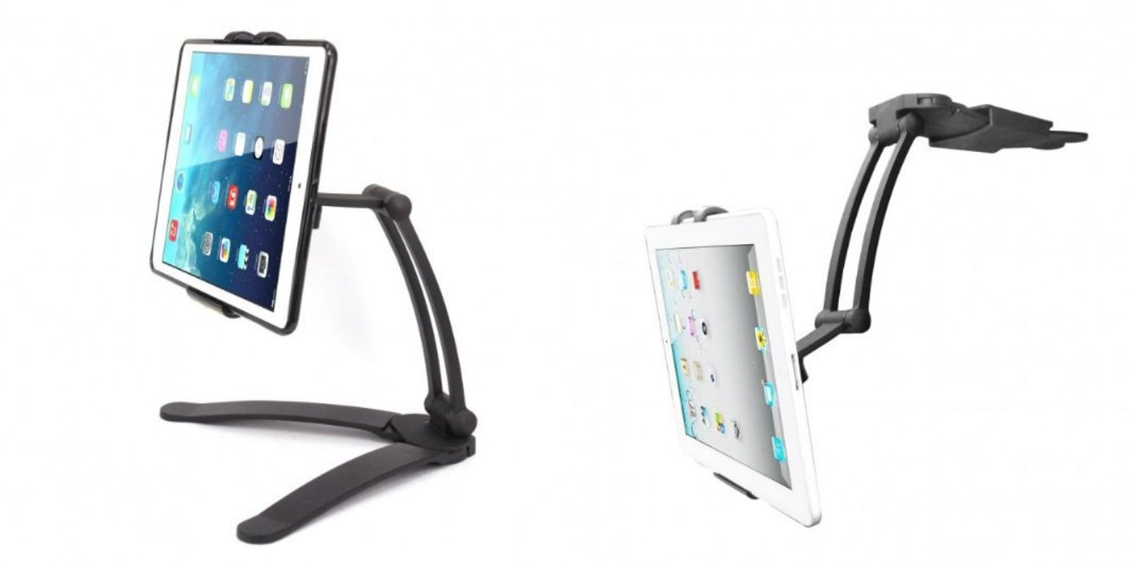This tough, multipurpose tablet stand goes anywhere for pretty much any use you can imagine.