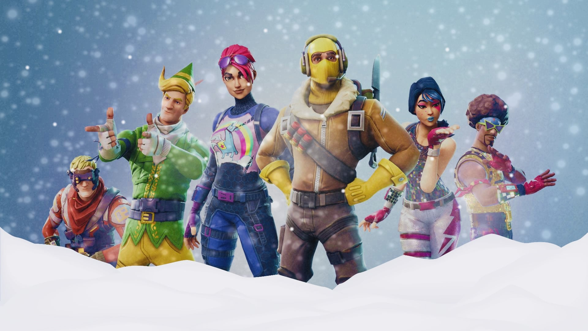 Fortnite winter