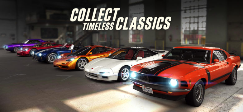 CSR Racing 2 lets you restore and race top classic cars