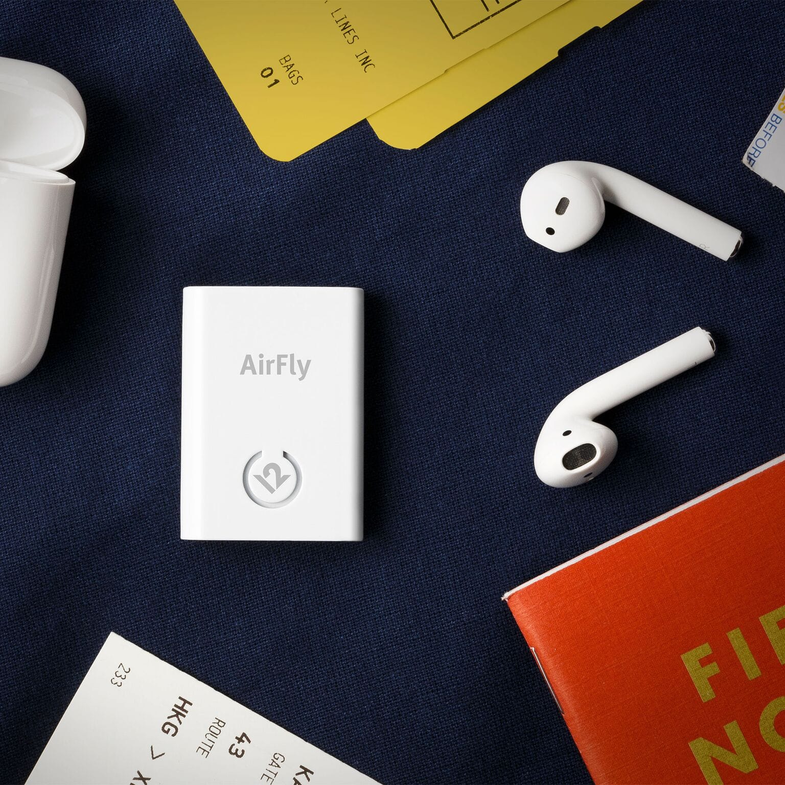 AirFly brings pristine wireless listening to any and every location.