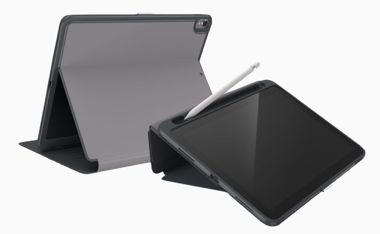 Speck's latest iPad Pro case transforms into a stand, too.