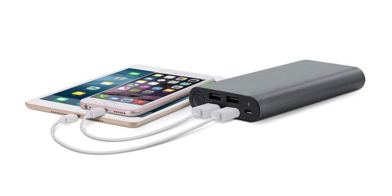 This portable charger places safety first, with many features to keep your devices healthy.