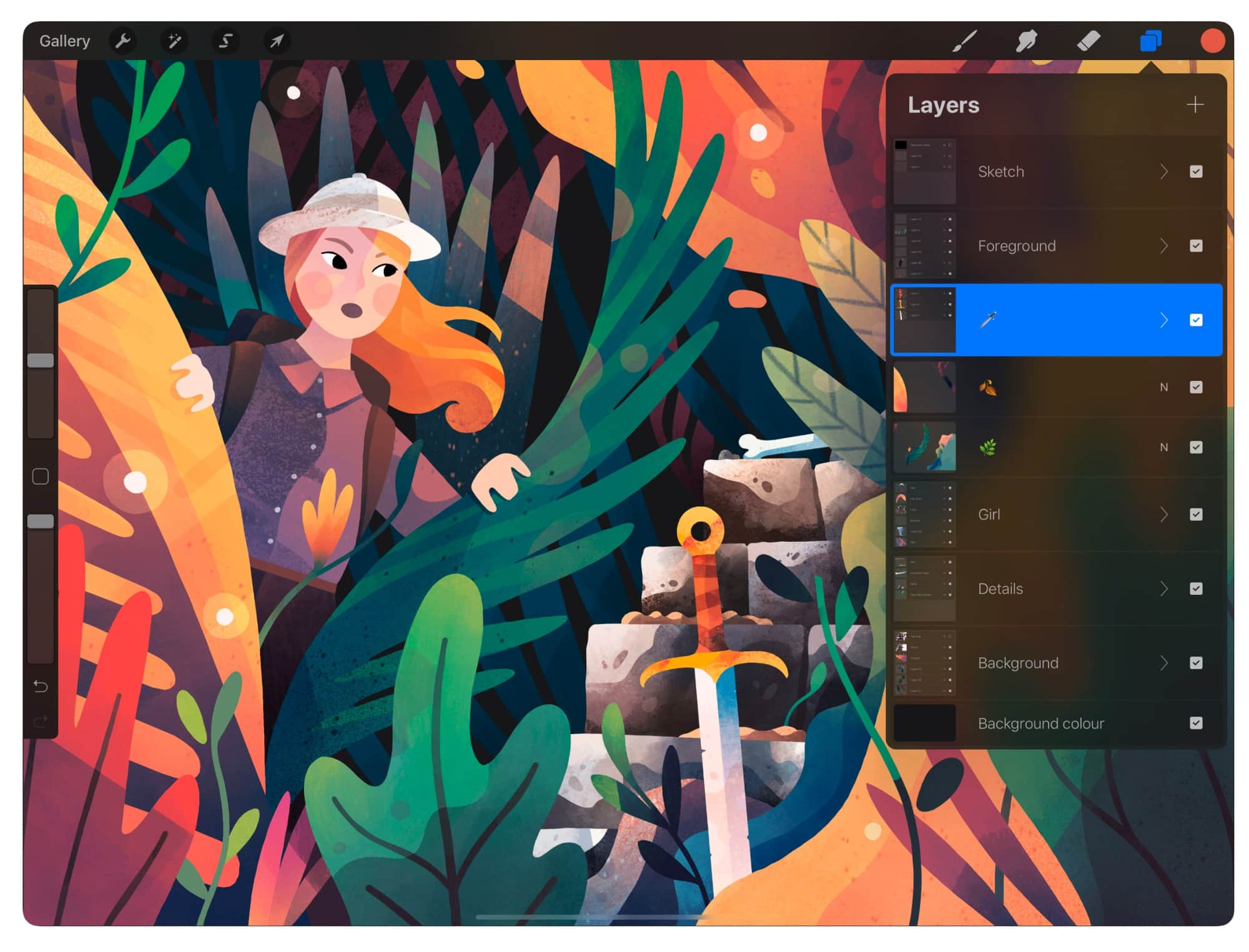 Procreate is essential for iPad artists and illustrators.