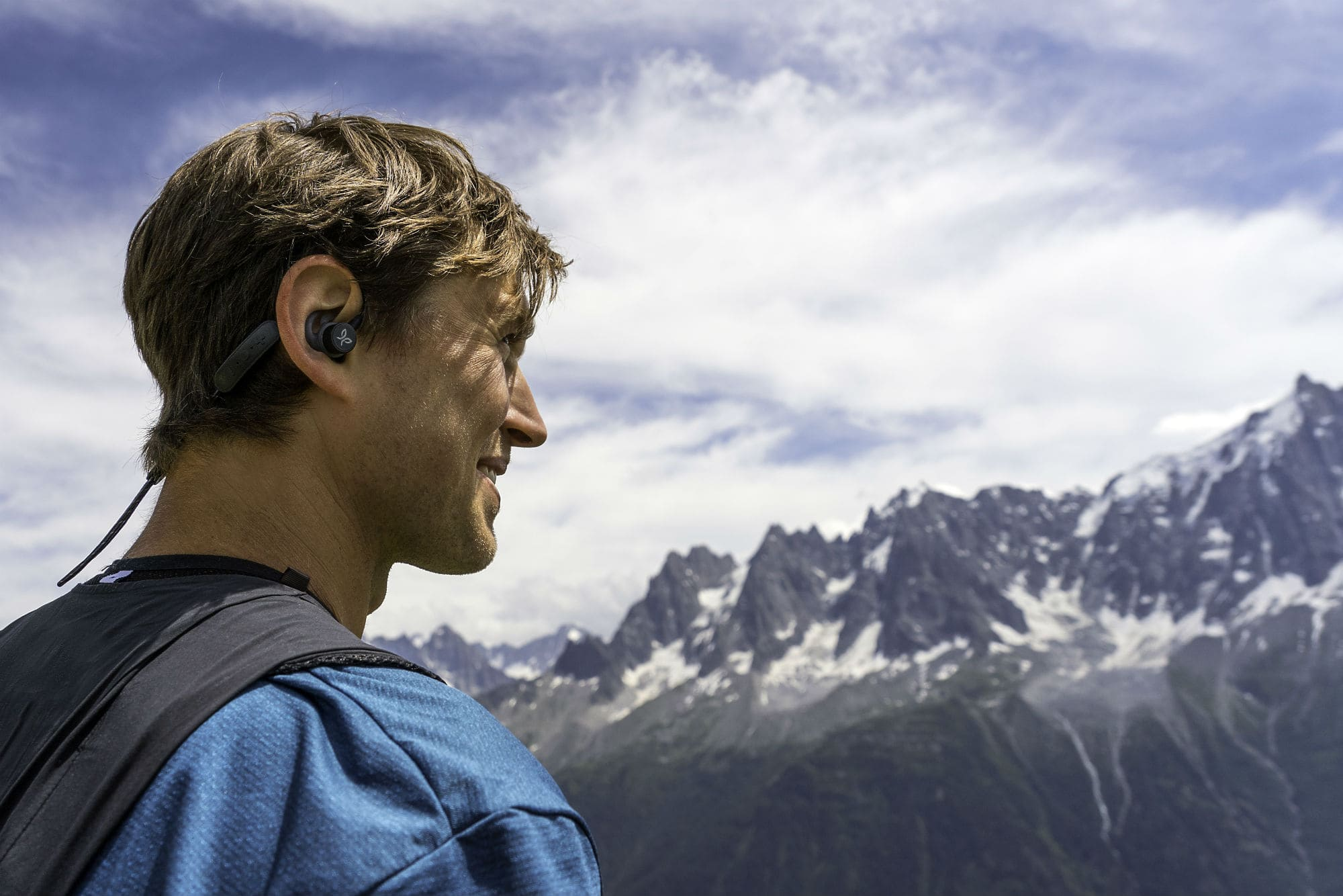 Tarah Pro sports earbuds are up to almost any adventure.