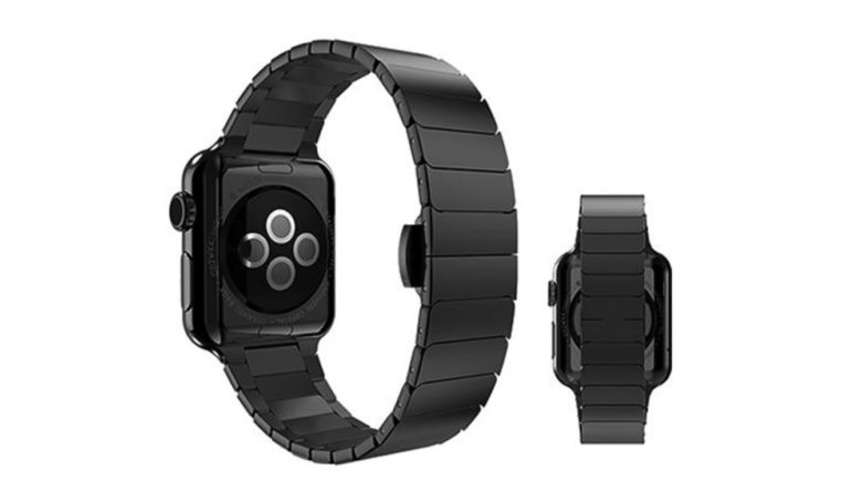 Built from the same steel alloy as the Apple Watch, Wiplabs' Link Apple Watch Bracelet is the perfect companion for your new Apple Watch.