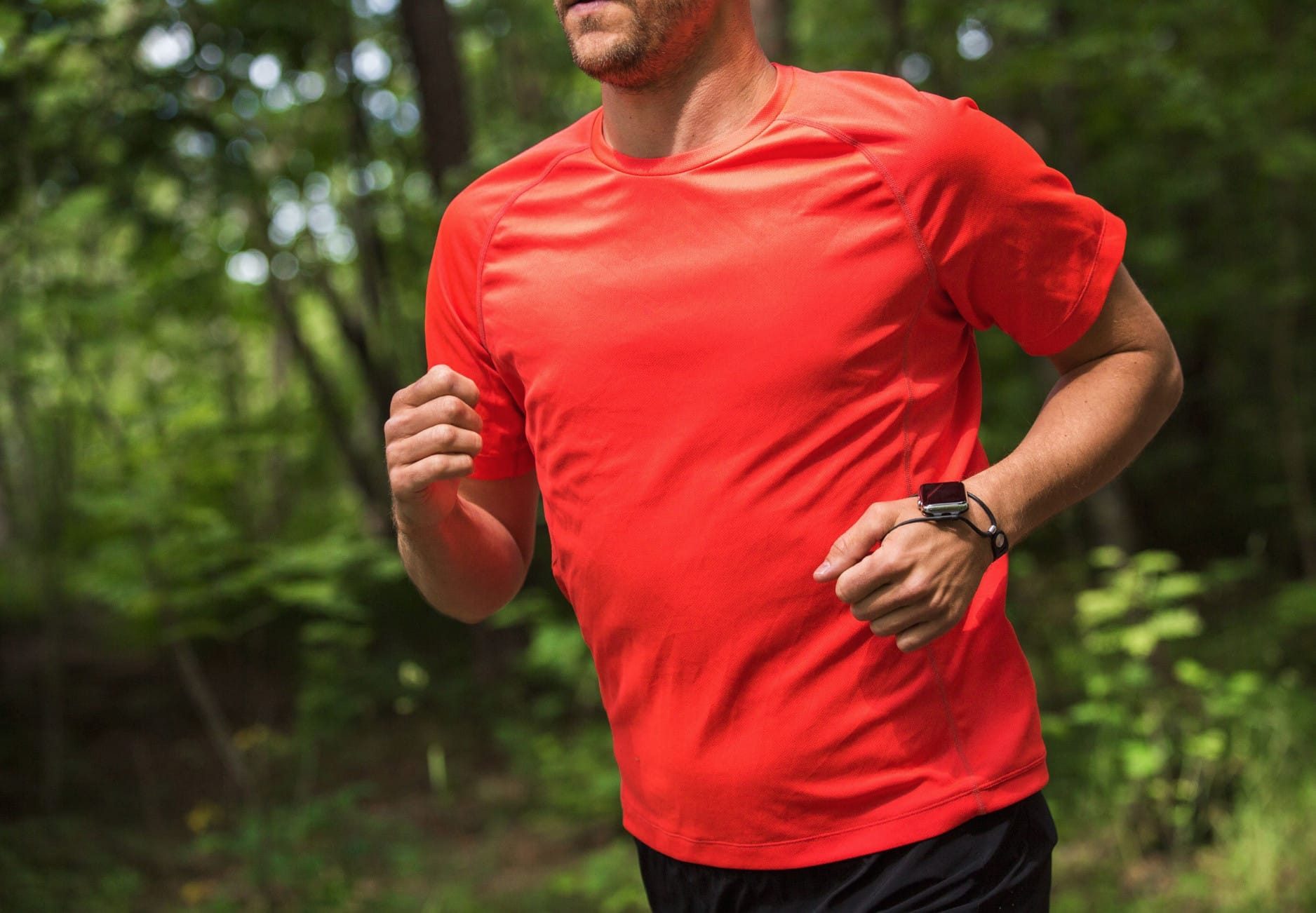Shift is super light and stays in place throughout your run.