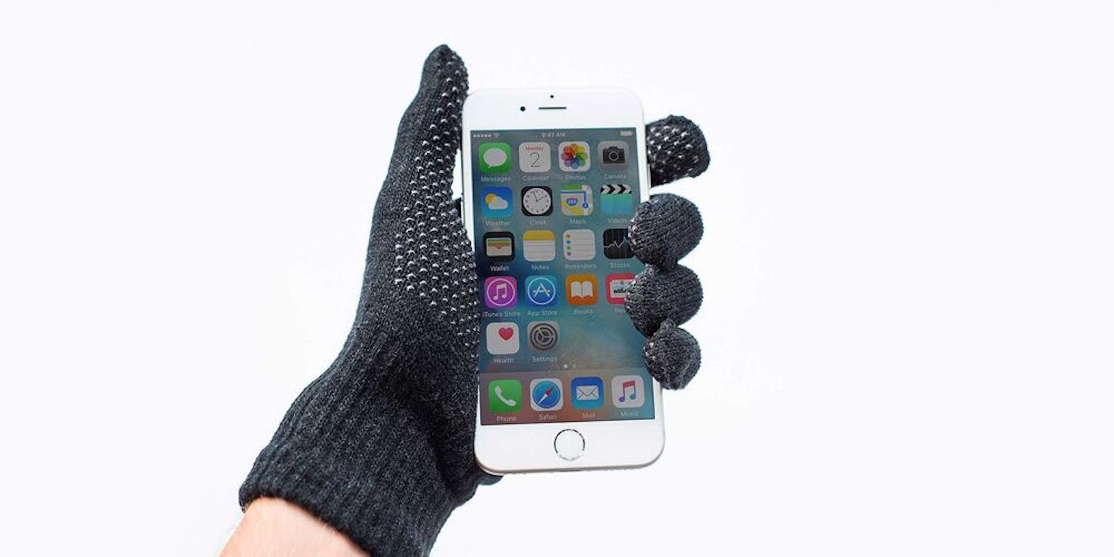Don't let the cold weather keep you from using your phone.