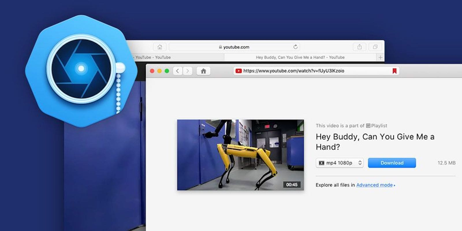 Grab videos from YouTube and other sites with VideoDuke, a handy video download app for Mac.