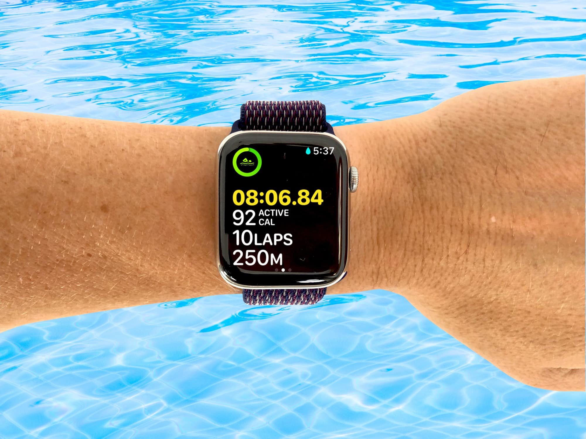 Always use the Multiple Metric Workout View for swimming