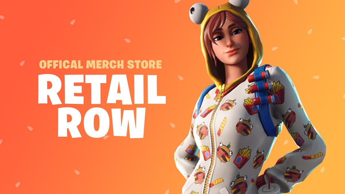Fortnite Retail Row store