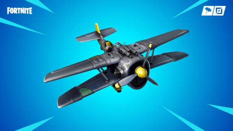 Fortnite Stormwing plane