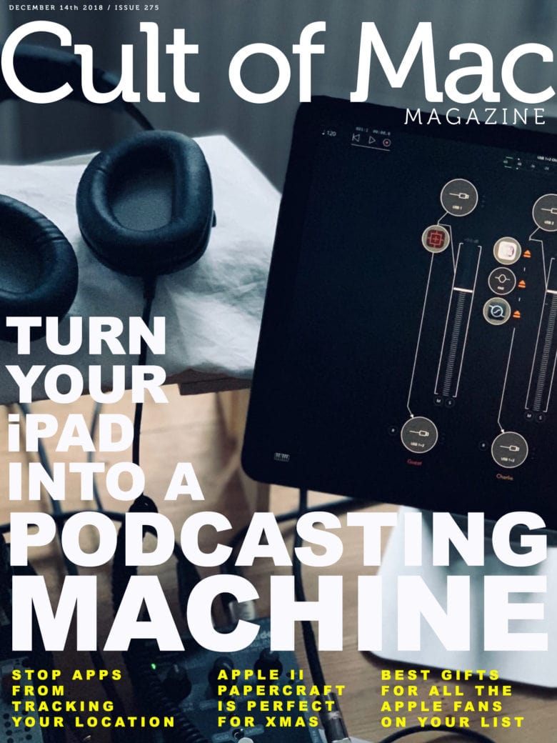 Embrace the iPad, podcasting road warriors!