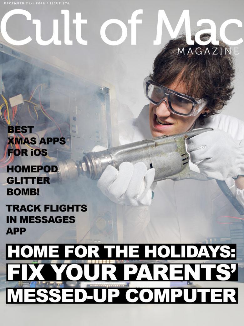 Cult of Mac Magazine No. 276 cover