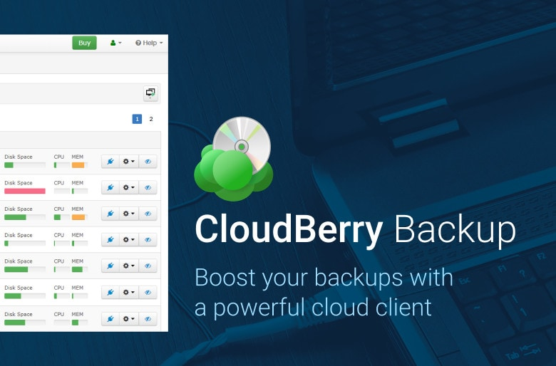 CloudBerry cloud backup