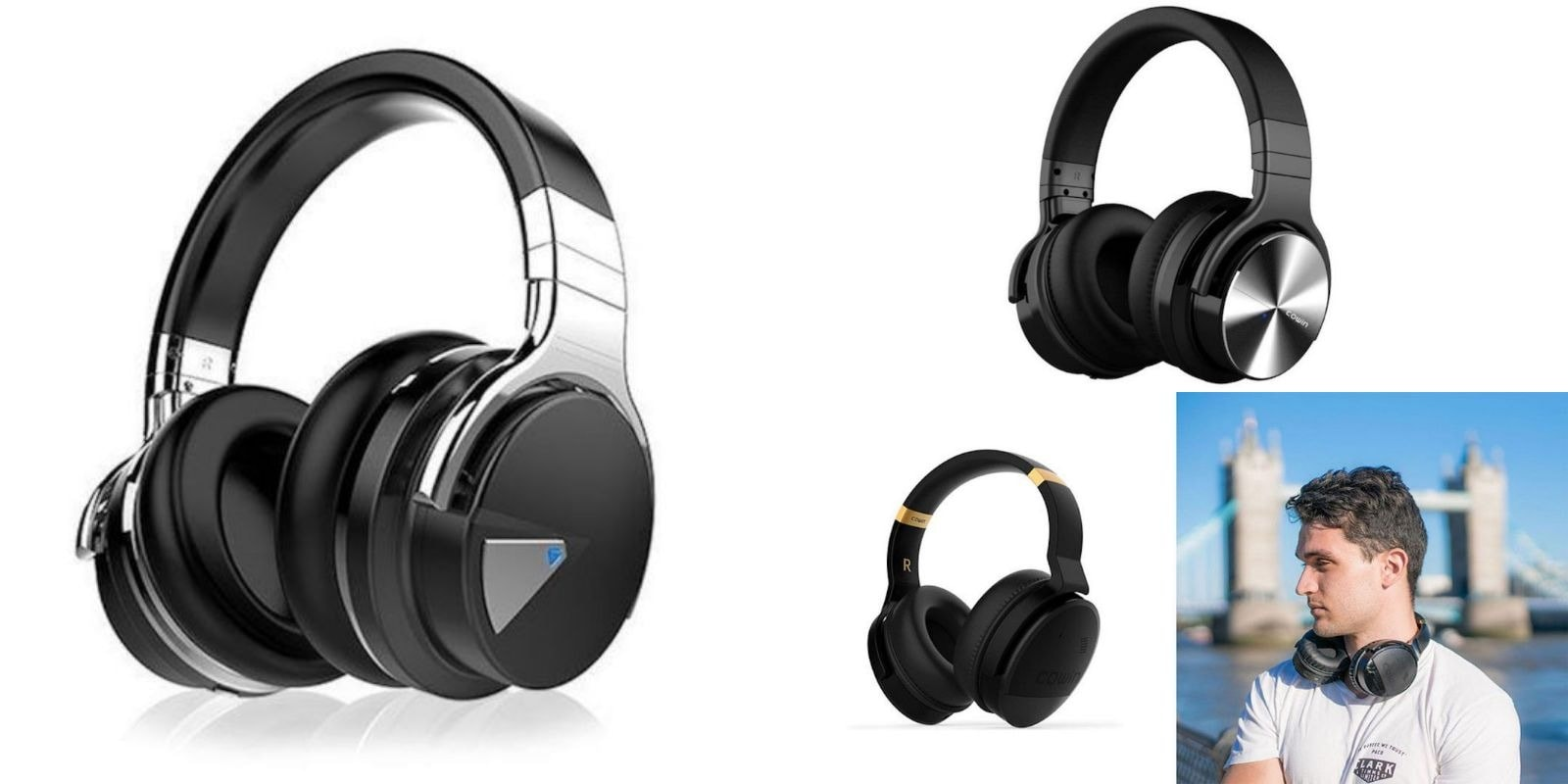 We've rounded up three of the best deals on noise cancelling headphones from Cowin.