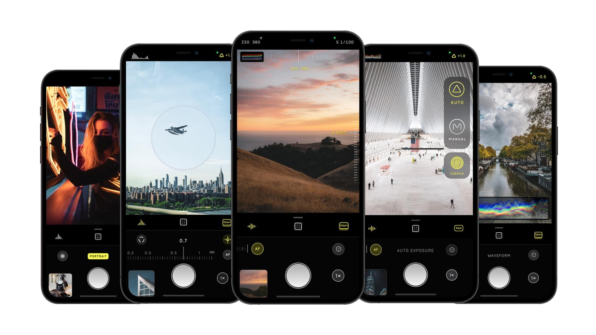Halide app for iPhone