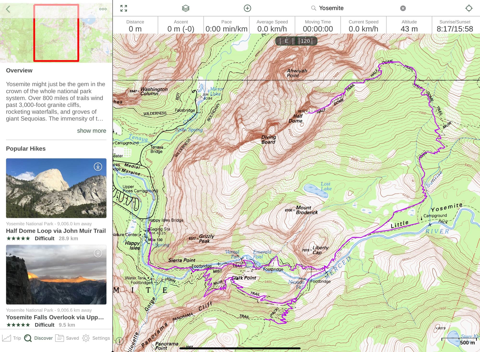 Gaia GPS now lets you find great hiking routes.