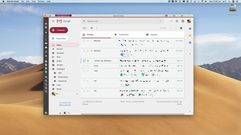 gmail desktop app mac