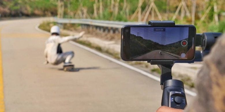This iPhone gimbal does double duty as a charging platform, with a bunch of other cool extras.