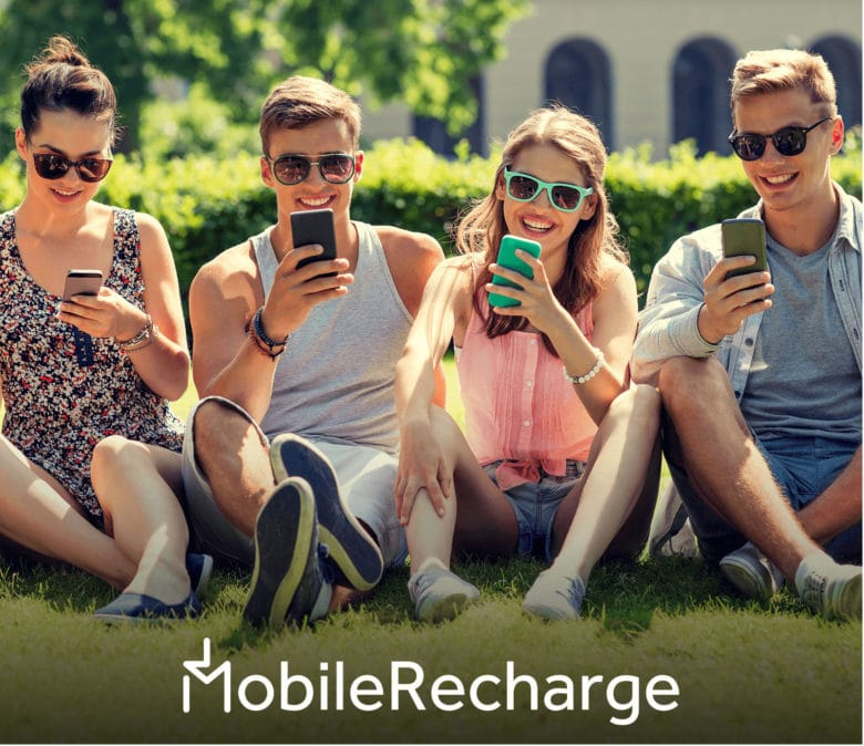 Add mobile credits in less than a minute with MobileRecharge.