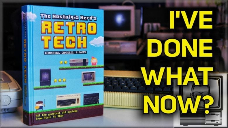 The Nostalgia Nerd's Retro Tech: Computer, Consoles and Games is a fun journey back through gaming history