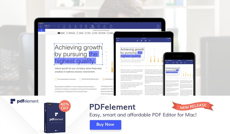 PDFelement is a fast, easy, and powerful PDF editor for Mac.