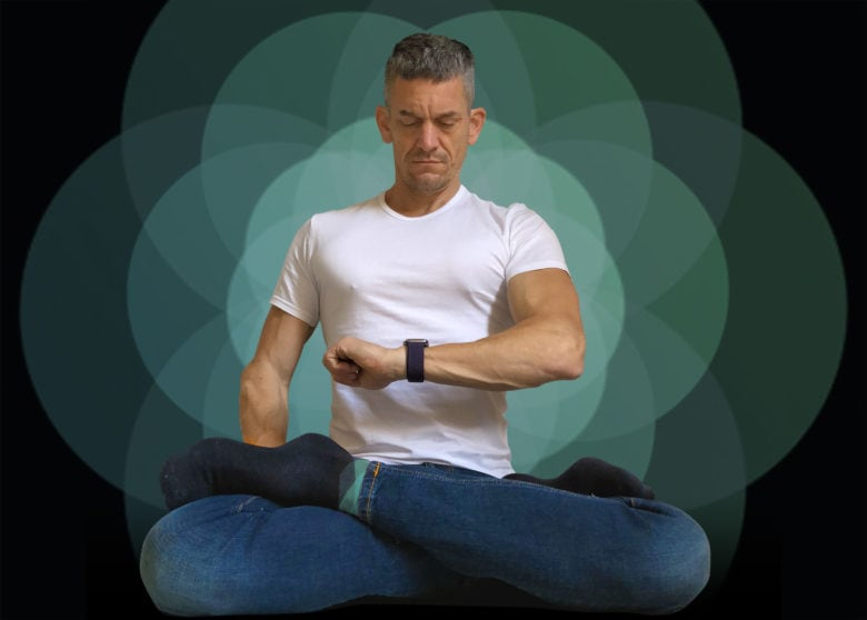 Chill out with the Apple Watch Breathe app.