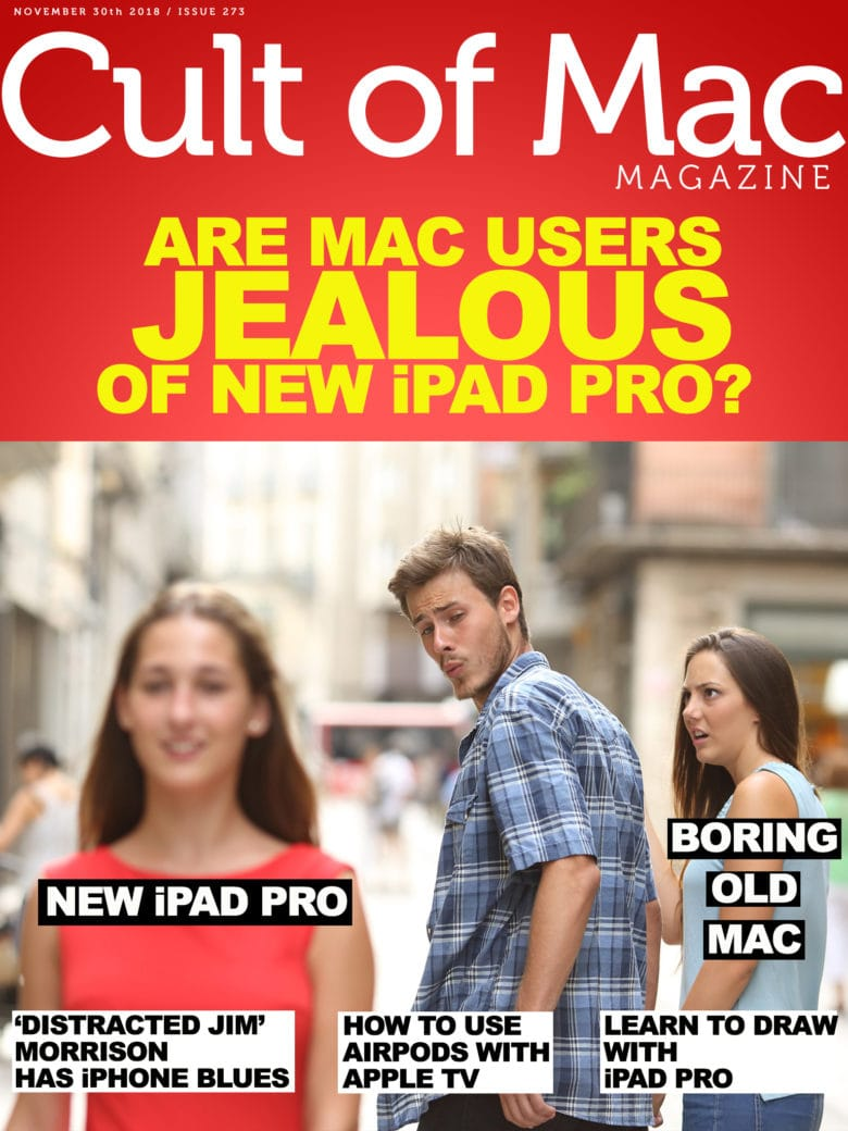 iPad Pro jealousy and regret in Cult of Mac Magazine No. 273.